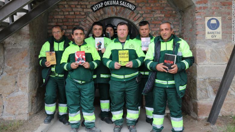 LA STORIA: Gli eroi dei libri di Ankara