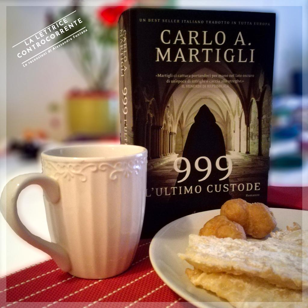 RECENSIONE: 999 L'ultimo custode (Carlo A. Martigli)