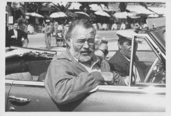 Hernest Hemingway a Rapallo