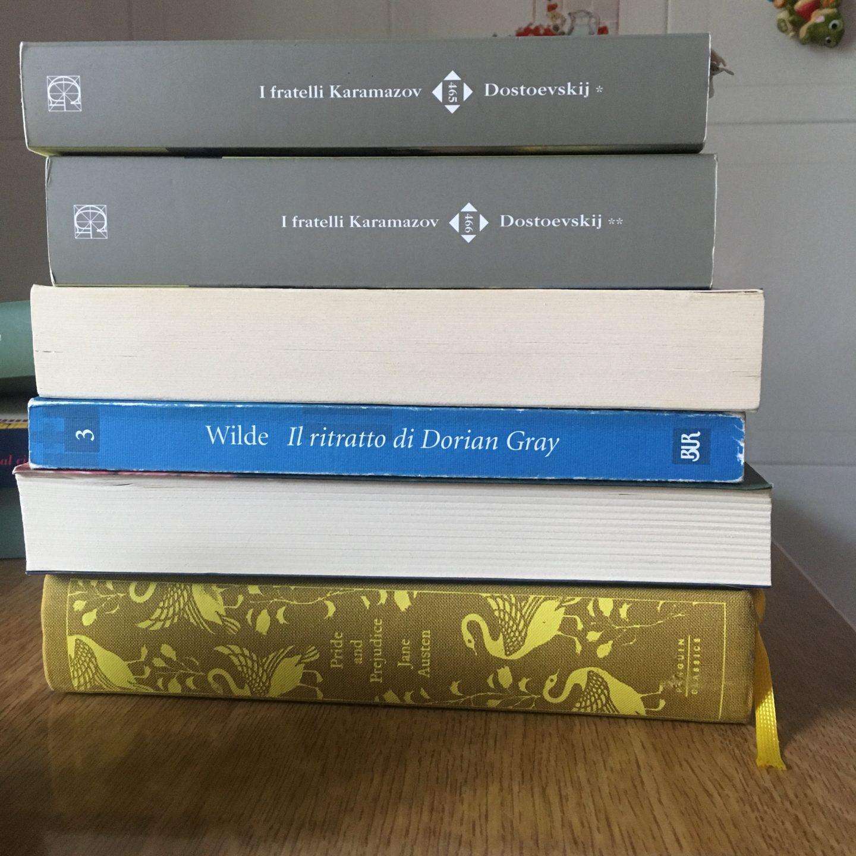 Cinque libri da cui non potrei mai separami