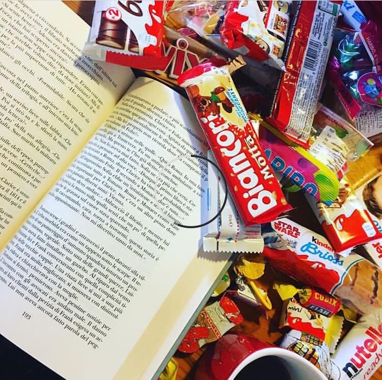 Cinque snack/bevande da lettura
