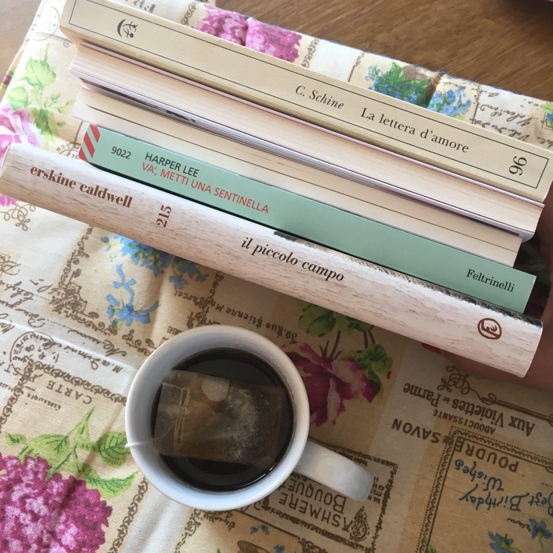 I cinque libri nella mia libreria ma che non ho ancora letto