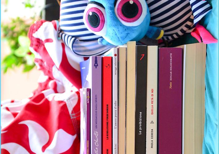 Le mie letture di luglio - libri del mese - lettrice controcorrente