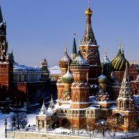Russia Mosca piazza rossa e cremlino