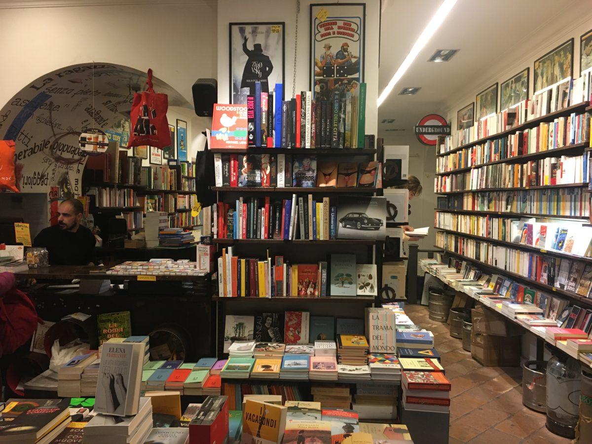 Libreria A Porta Di Roma spunti di vacanza a roma: libri e librerie della capitale