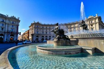 Piazza della Repubblica Roma