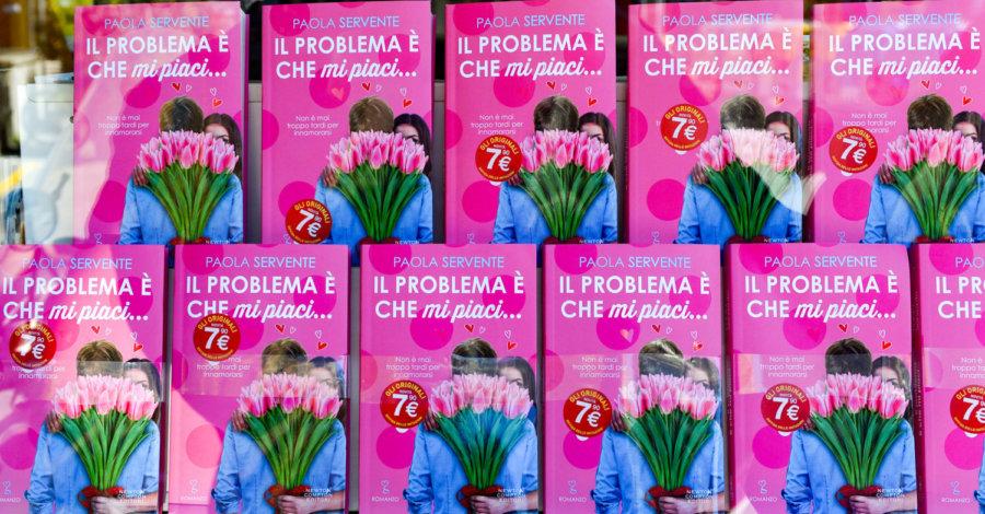 Il problema è che mi piaci - Paola Servente - Newton Compton copertina