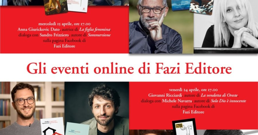 Gli incontri online di Fazi editore