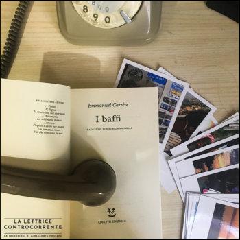 I baffi - Emmanuel Carrere - Adelphi