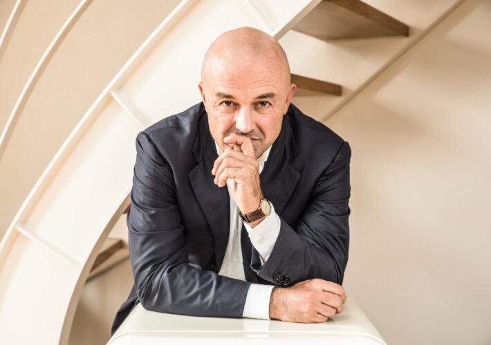 Gianluigi Nuzzi. Foto Yuma Martellanz