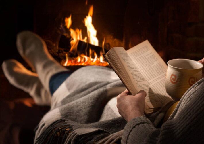 Libri dei desideri le uscite di gennaio - generica inverno camino