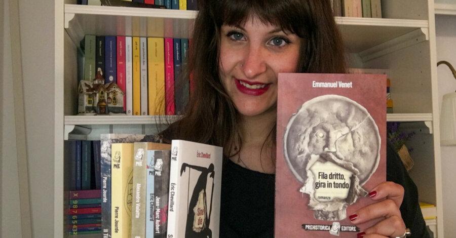 Fila dritto gira in tondo - Emmanuel Venet - Prehistorica editore