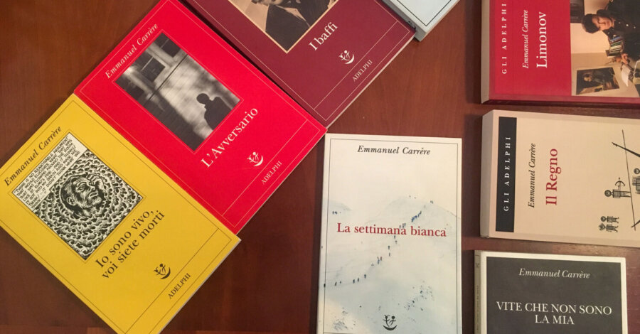 La settimana bianca - Emmanuel Carrère - Adelphi