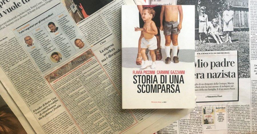 Storia di una scomparsa - Flavia Piccinni e Carmine Gazzanni - Fandango libri
