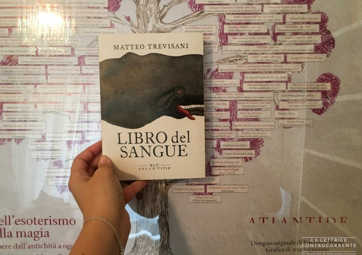 Libro del sangue - Matteo Trevisani - Atlantide Blu